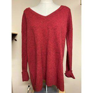 Premise Cranberry 100% Oversize Sweater Ladies Sma